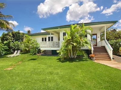 Ahe Lani is a Charming, Plantation-Style Kauai Rental Vacation Beach Home