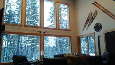 West Glacier Park - Riverfront Cabin on 9 Treed Acres!!!