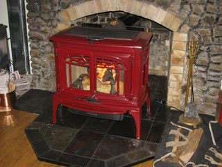 Lake Algonquin - Wells house photo - Wood Stove