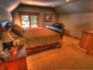 Estes Park house photo - Upper Level King Suite