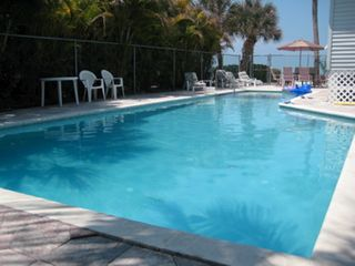 Fort Myers Beach house photo - 46 Foot Heated Pool Overlooking the Gulf