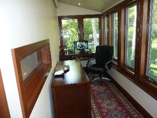 Teton Village condo photo - Sun Filled Office off the Kitchen. High Speed WI-Fi Throughout the Town House