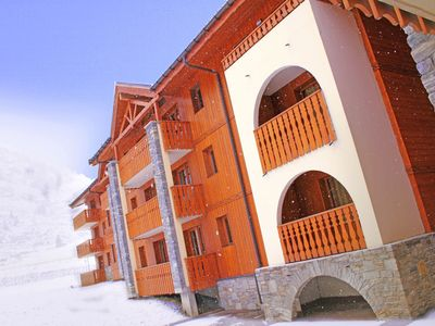 A comfortable apartment in Val Cenis just 200 metres from the ski-slope.