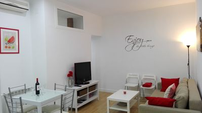 Madrid center. With all amenities and very quiet. All new!