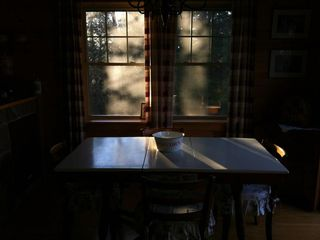 Jay Peak cabin photo - Kitchen Table seats 6