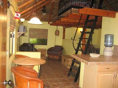Interior of Casita