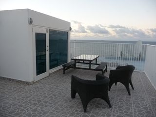 Isla Verde condo photo - Private Terrace