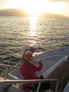Take a boat trip and enjoy sunrise out on the water.