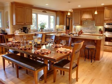 """Carmel house rental - Welcome to """"Seahorse Sanctuary""""! Beautifully remodeled Carmel-by-the-Sea home. Open concept living room, dining and chef's gourmet kitchen. 2 Master Suites. Pet Friendly!"""