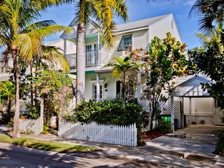 Key West house photo - A beautiful island home on a quiet cul-de-sac.