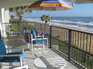 Ormond Beach condo rental - Balcony looking North