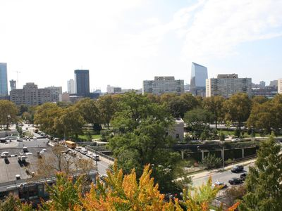 Rodin Museum and Ben Franklin Parkway
