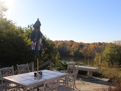 Not just a summer home, come watch the leaves turn or enjoy a winter wonderland!
