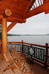Cooperstown cabin photo - Take in the views from one of the decks