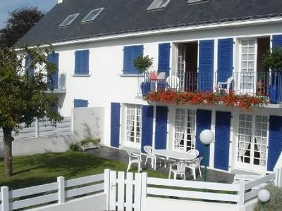 Peaceful apartment, with garden , Fouesnant, Brittany