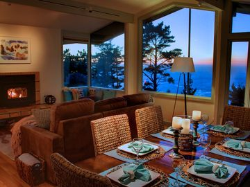 """Big Sur house rental - Welcome to """"Garrapata Ridge Retreat""""! Paradise on top of the world. Private and quiet on acreage. Breathtaking ocean views! Hot tub with ocean view."""