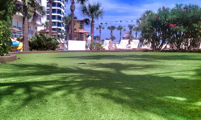Daytona Beach condo rental - Putting Green