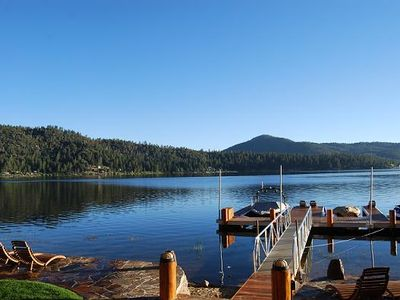 Big Bear Lake house rental - Prime Lake Location!