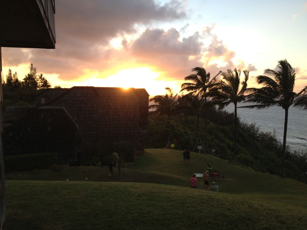 Sunset from Condo