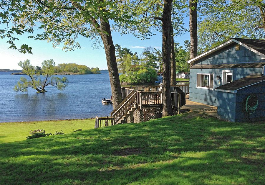Waterfront Cottage With Magnificent Homeaway Mallorytown