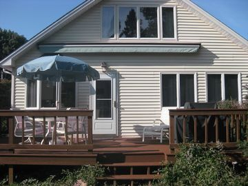 Bonnet Shores house rental - Porch with retractible awning