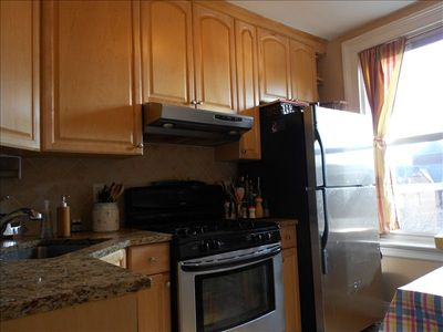 Fully equiped kitchen: oven