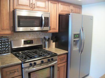 All new appliances, counter tops, and kitchenware