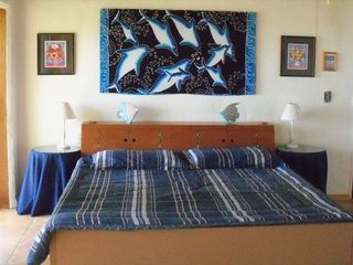 Culebra house photo - Fully-baffled King Waterbed - no bouncing!