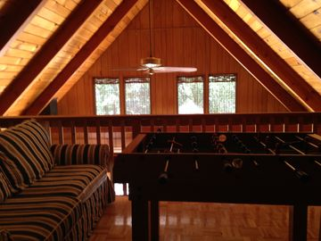 Groveland cabin rental - View from Master bedroom.