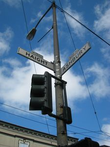 One block from historic Haight street.