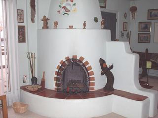 Albuquerque house photo - Kiva Fireplace