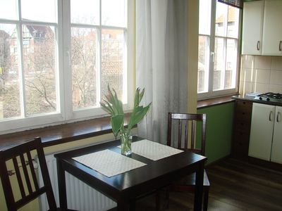 Theatre Apartment in Gdansk Historic Centre