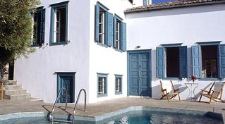 Hydra Island villa photo - Neo classical villa