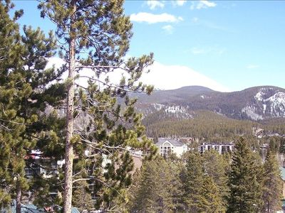 View from 1 of the 3 balconies- Baldy Mountain