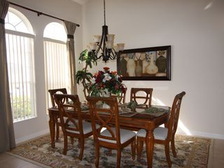 Orange Tree villa photo - Formal Dining Room
