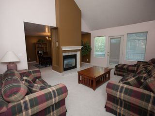 Cottonwood Heights condo photo - Living area with gas fire