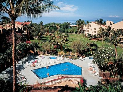 Enjoy the Kamaole Sands Resort Pool.  Across the Street from Kamaole Beach III