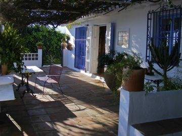 Frigiliana cottage rental - terrace