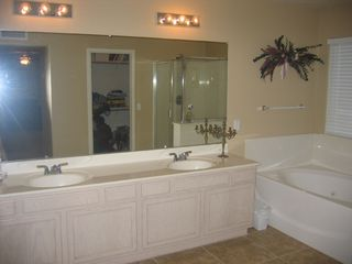 Peoria house photo - Master Bathroom with jetted tub