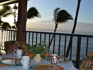 Maalaea condo photo - Another fabulous sunrise in paradise looking towards Haleakala.