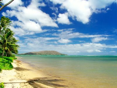 Beaches in Hawaii Kai are safe year round.  Warm calm waters.