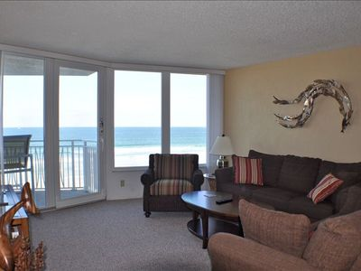Beautiful ocean view from Living Room