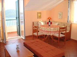 Ploce apartment photo - Enjoy breakfast on the balcony or at this cozy dining table