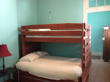 Bedroom 3- Triple Bunk...2 doubles & a single on top- Sleeps 5.