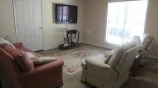 Lake Norman house photo - Seating area downstairs with 50 inch flat screen TV
