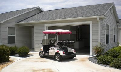 Entry way, Golf Cart