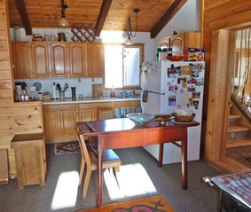 Absarokee cabin photo - Kitchen