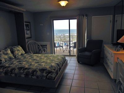 Sugar Beach 143 is a studio condo with beautiful gulf views!