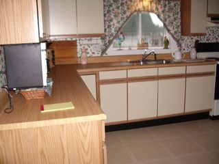 East Machias house photo - Large Eat In Kitchen