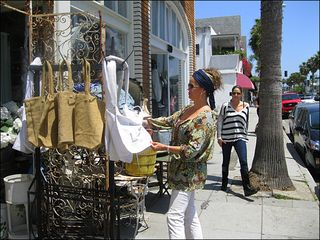Venice Beach apartment photo - Abbot Kinney Blvd - walk to shops, art galleries, pubs, restaurants